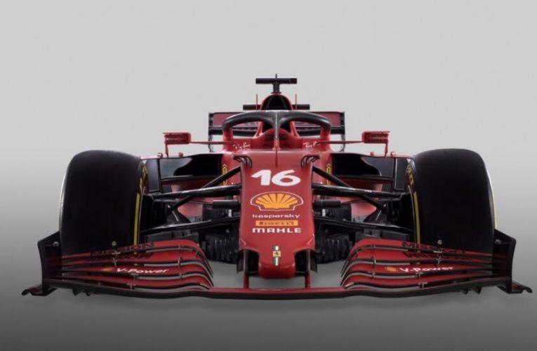 Neuer Ferrari SF21 überrascht mit giftgrünem Logo