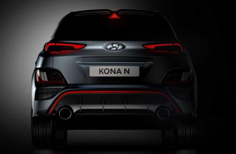 Dies ist der Hyundai Kona N!